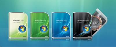 Windows Vista Russian (x86-x64) - 8 in 1 - Activated