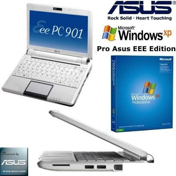 Windows XP Pro Asus EEE Edition