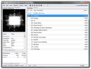 foobar2000 v0.9.6.1 Beta 2