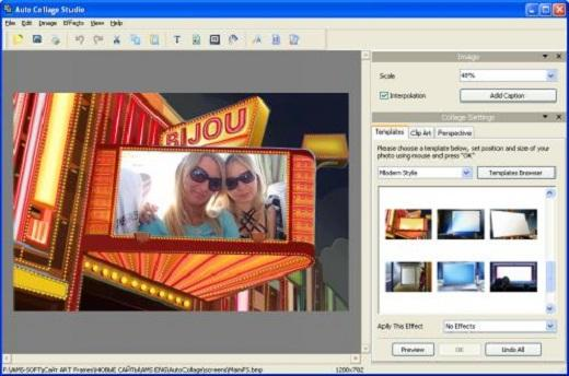 AMS Software Auto Collage Studio v3.0 Portable