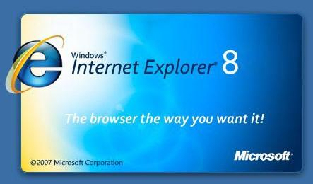Обозреватель Windows Internet Explorer 8 для Windows XP