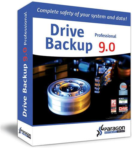 Paragon Drive Backup v9.0 Build 5541 Professional Retail
