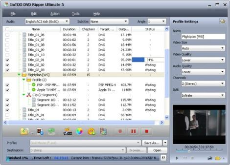 ImTOO DVD Ripper Ultimate v5.0.51 Build 1016 Portable