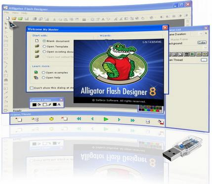 Selteco Alligator Flash Designer v8.0.1 Portable