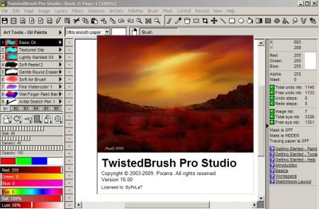 TwistedBrush Pro Studio v16.09 Portable