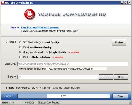 YouTube Downloader HD v1.4 Portable