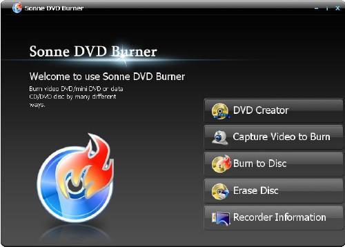 Sonne DVD Burner v3.1.0.2098