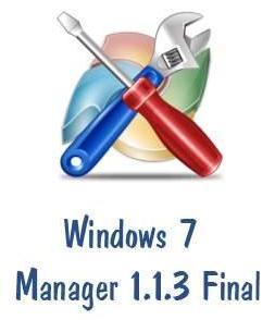 Windows 7 Manager v1.1.3 Final