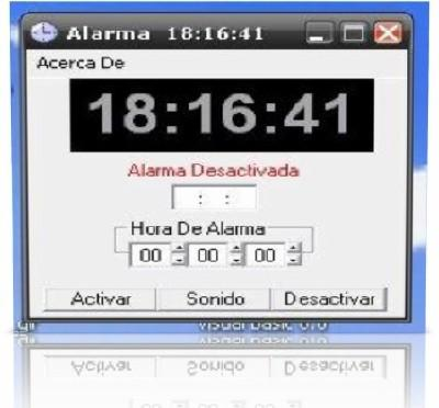 Alarm on your PC