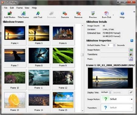 DVD PixPlay Pro v5.20.4.312