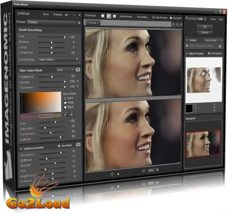 Imagenomic Portraiture v2.3 build 2308-01 for Adobe Photoshop (Win/Mac) And Aperture Plugin