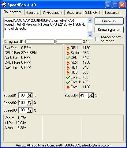 SpeedFan v4.40