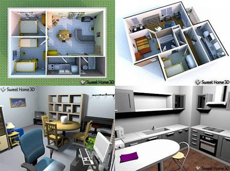 Sweet Home 3D v2.2 Rus + Portable