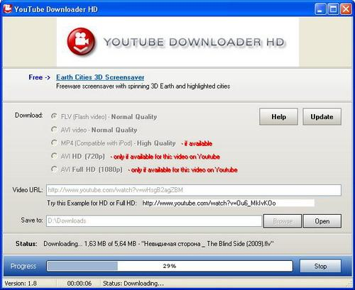 Youtube Downloader HD v1.8