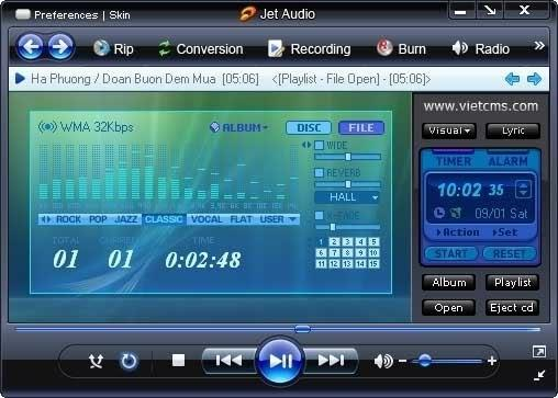 Cowon jetAudio v8.0.0.510 Plus VX Portable
