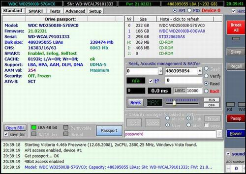 Victoria v4.3 Freeware (beta version)
