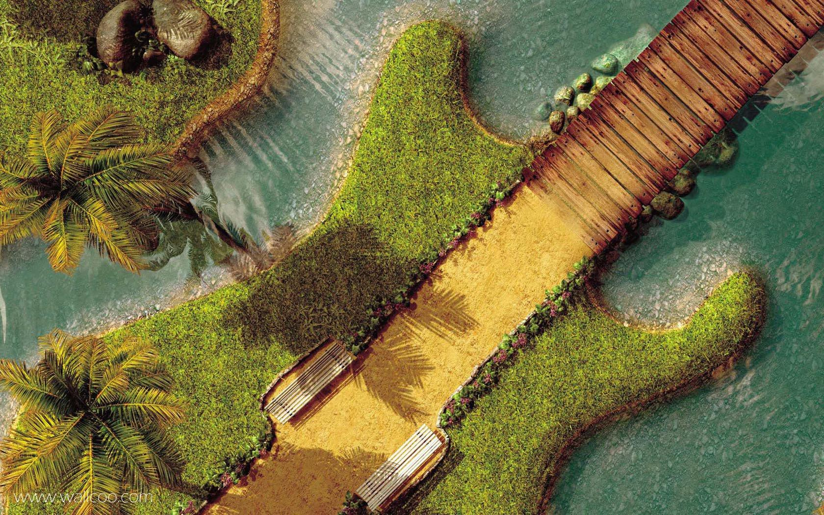 Креативный дизайн в сборнике обоев / Creative design wallpapers (12-04-2009)