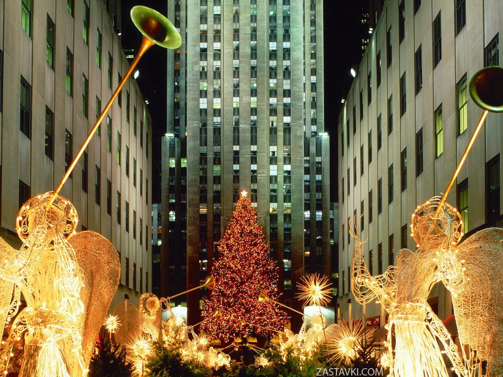 Новогодние обои 2009 / New Year Wallpapers (11-12-2008)