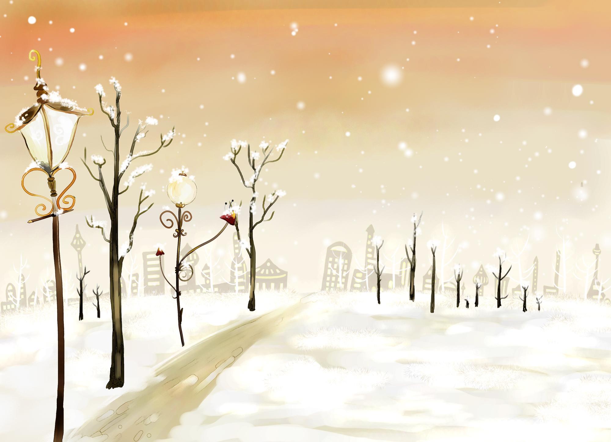 Новогодние фоны (14-12-2008)