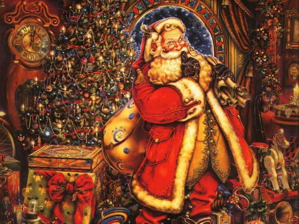 Новогодние обои на рабочий стол (12-12-2008)